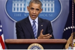 Tổng thống Obama tạm ngừng họp báo để cứu người bị ngất