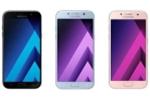 Lộ diện 3 mẫu điện thoại Samsung Galaxy A chống nước, camera 16 megapixel
