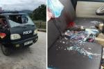 Nguyên nhân thanh niên hung hăng cầm gạch ném vỡ kính xe tải khiến 1 người thương nặng