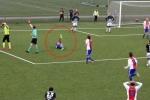Video: Lạnh người pha vào bóng khiến cầu thủ gãy đôi xương ống quyển