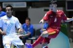Guatemala ngỡ ngàng trước 'kèo trái' của tuyển futsal Việt Nam