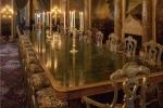 Phòng ăn như cung điện trong khu nghỉ dưỡng của Tổng thống Trump