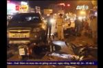 Video: Tài xế mặc sắc phục công an tông hàng loạt xe máy trong đêm ở Sài Gòn