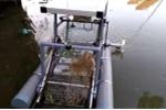 Robot vớt rác trên sông giúp tiết kiệm chi phí, bảo vệ môi trường