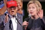 Sát ngày tranh luận bầu cử Tổng thống Mỹ lần cuối, Hillary Clinton vẫn bỏ xa Donald Trump