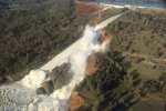 Mỹ huy động trực thăng thả đá cứu đập sắp vỡ