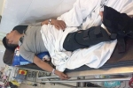 Điều tra nghi vấn phó công an xã đánh gãy chân một người dân ở Hải Dương