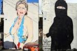 Tranh chế nhạo bà Hillary Clinton vào top ảnh tuần
