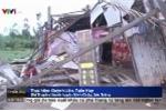 Lốc xoáy đánh sập, làm tốc mái hàng trăm nhà dân ở Sóc Trăng