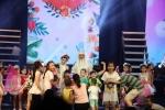 Quang Thắng bị hàng trăm khán giả nhí 'bao vây' sau đêm diễn