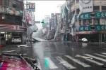 Đài Loan hoang tàn sau khi siêu bão mạnh cấp 17 Nepartak đổ bộ