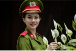 Hoa khôi Cao đẳng Cảnh sát I khoe sắc trong bộ trang phục cảnh sát