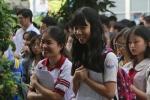 Thi THPT Quốc gia 2017: Thí sinh rạng rỡ vì 'trúng tủ' đề thi Ngữ Văn