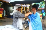 Video: Mưa lớn trong ngày thứ 2 kỳ thi THPT quốc gia 2017, Thái Nguyên chìm trong 'biển nước'