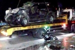 'Xe điên' tông chết 2 người lúc nửa đêm ở Hải Phòng