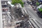 Hiện trường sập sàn bê tông vùi lấp nhiều người ở Vũng Tàu
