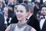 Vũ Ngọc Anh diện váy xuyên thấu trên thảm đỏ bế mạc Liên hoan phim Cannes