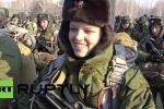Xem 11 nữ sĩ quan xinh đẹp Nga nhảy dù