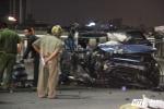 Xe Range Rover tông container trên cầu Sài Gòn: Nạn nhân là trung úy công an