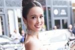 Vũ Ngọc Anh là mỹ nhân Châu Á được lên hình lâu nhất trên thảm đỏ Cannes