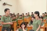 Giảng viên trẻ Học viện An ninh 3 lần được thăng cấp hàm trước niên hạn