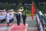 Ảnh: Lễ đón chính thức Tổng thống Pháp Francois Hollande