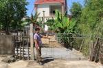 Trưởng thôn tự ý bán đường của dân cho người khác xây nhà