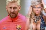 Siêu mẫu bốc lửa chê Messi yếu đuối chuyện chăn gối