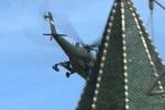 Clip: Mi-35MS tối mật của Nga vô tình lộ diện khi bay gần điện Kremlin