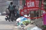 Tuyệt không thấy thùng rác trên vỉa hè, rác ngập đường, phố xá Thủ đô bệ rạc, thiếu văn minh