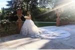 Con gái đại gia dầu khí diện váy gần 7 tỷ đồng trong đám cưới