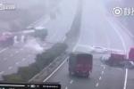 Xe tải lao sang đường ngược chiều gây tai nạn liên hoàn thảm khốc