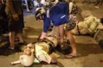 Hai chiến sỹ CSGT bị quái xế đạp trọng thương trên cầu