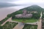 Mưa lũ khủng khiếp ở Trung Quốc làm ngập khu tưởng niệm cố Chủ tịch Mao Trạch Đông