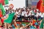 Xem Ronaldo trổ tài hát hò trong lễ ăn mừng vô địch Euro 2016