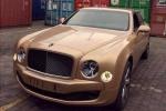 Siêu xe Bentley màu độc theo chân đại gia về Việt Nam