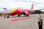 Tổ bay Vietjet Air bị đình chỉ sau vụ hạ cánh nhầm
