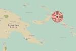 Động đất 8 độ richter ngoài khơi Papua New Guinea, cảnh báo sóng thần