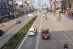 Ngày Tết, phố rộng thênh thang, vẫn cố lấn làn buýt nhanh
