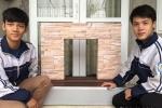 Học sinh Nghệ An sáng chế hệ thống tự động ngăn nước tràn vào nhà