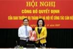 Bổ nhiệm Giám đốc Sở KH&ĐT làm Chánh Văn phòng Thành ủy Hà Nội