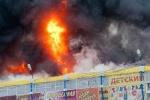 Lại cháy chợ ở Mátxcơva làm 12 người chết