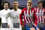 Link sopcast xem bóng đá trực tiếp Real Madrid vs Atletico Madrid