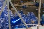 Phát hiện 7 cơ sở sản xuất nước đóng chai gây hại cho sức khỏe