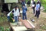Bố bị giết rồi giấu xác, con trai 4 tuổi đi tìm chết thảm bên bờ suối