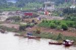 Công an nổ súng vây bắt, người đàn ông lao xuống sông mất tích