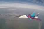 Video: Chiến cơ SU-30SM được 'Hiệp sĩ Nga' tiếp nhiên liệu giữa trời ngoạn mục