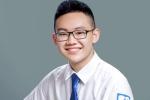 Chàng thủ khoa 'kép' điển trai có điểm thi vào lớp 10 cao nhất Hà Nội