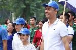 Mặc tin đồn thất thiệt, MC Phan Anh vui vẻ đưa con gái đi sự kiện cộng đồng