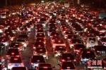 Cảnh ùn tắc khủng khiếp sau Tết Nguyên đán ở Trung Quốc